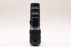 Arma 9 milímetros com compartimento Fotografia de Stock