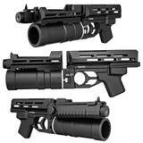 Arma militare, vista immagine stock libera da diritti