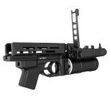 Arma militare, vista fotografie stock libere da diritti