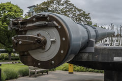 Arma naval de Ingleses 15 Museu imperial da guerra Foto de Stock Royalty Free