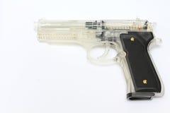 Arma negro de la víbora Fotos de archivo