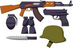 A arma padrão do exército Ilustração do Vetor