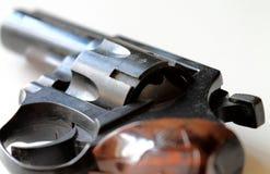 Arma - pistola - revolver - primo piano Immagini Stock Libere da Diritti