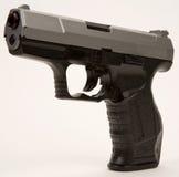Arma semi automático de la mano Fotografía de archivo