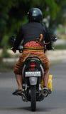ARMA TRADIZIONALE INDONESIANA DEL PUGNALE DI KRIS Fotografia Stock