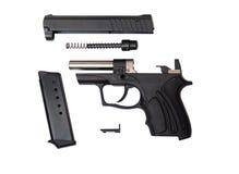 Arma traumático desmontada de fort-10r Imagens de Stock