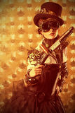 Arma velha Imagem de Stock Royalty Free