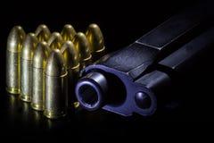 Arma y puntos negros Foto de archivo