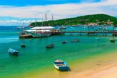 Armacao Beach in Buzios, Rio de Janeiro Royalty Free Stock Photography