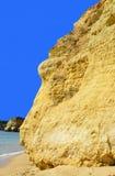 Armacao de Pera Beach στην ακτή του Αλγκάρβε Στοκ εικόνα με δικαίωμα ελεύθερης χρήσης
