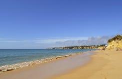 Armacao de Pera Beach στο Αλγκάρβε Στοκ Φωτογραφίες
