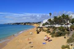 Armacao de Pera Beach Στοκ φωτογραφία με δικαίωμα ελεύθερης χρήσης