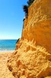 Armacao De Pera Beach on the Algarve Stock Photography