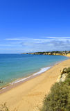 Armacao De Pera Beach on the Algarve Royalty Free Stock Images