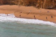Senhora da Rocha Beach stock images