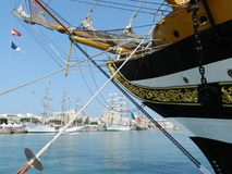 Armada in Cadiz Stock Photo