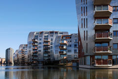 Armada : Modern Architecture in the Netherlands Royalty Free Stock Photos