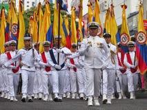 Armada Nacional de Colômbia foto de stock
