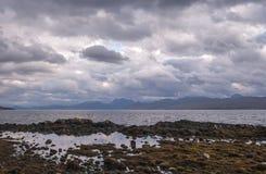 Armadale,斯凯岛海岛,苏格兰 库存照片