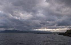 Armadale, остров Skye, Шотландия стоковая фотография