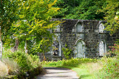 Armadale castle grounds building Royalty Free Stock Images