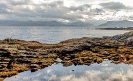 Armadale, Skye και θάλασσα Στοκ φωτογραφία με δικαίωμα ελεύθερης χρήσης
