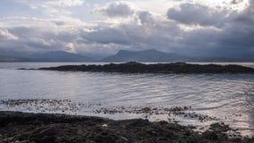 Armadale, Skye Island, Scotland. Sea and clouds, Armadale, Skye Island, Scotland Royalty Free Stock Photography