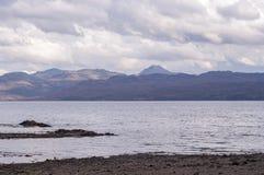 Armadale, Skye Island, Scotland. Sea and clouds, Armadale, Skye Island, Scotland Stock Images