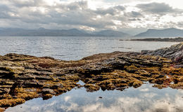 Armadale, Skye and sea Royalty Free Stock Photography