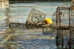 Armadi di pesca fotografia stock libera da diritti