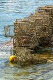 Armadi di pesca fotografie stock
