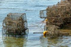 Armadi di pesca immagini stock