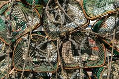 Armadi di pesca immagine stock