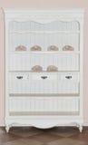 Armadietto bianco Fotografia Stock