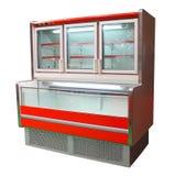 Armadietto del congelatore Immagine Stock