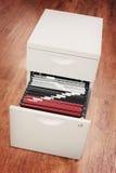 Armadietto di archivio Fotografia Stock