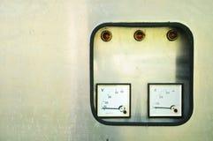 Armadietto elettrico Fotografie Stock