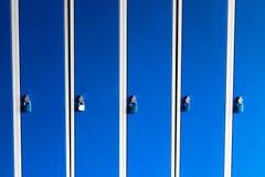 Armadietto/scatola della scuola Fotografia Stock