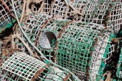 Armadilha da lagosta Imagem de Stock Royalty Free