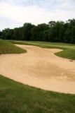 Armadilha de areia Fotografia de Stock