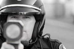 Armadilha de velocidade Fotografia de Stock