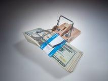 Armadilha do dinheiro fotografia de stock royalty free