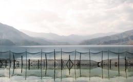 Armadilha sob a forma de uma rede de pesca Imagens de Stock