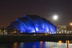 Armadillo iluminado por la luna Foto de archivo libre de regalías