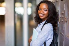 Armadio africano dello studente Immagine Stock Libera da Diritti