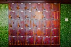 Armadio di legno Immagini Stock