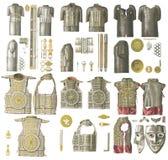 Armadura da Idade Média Fotos de Stock Royalty Free