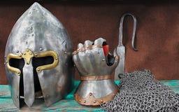 Armadura do cavaleiro Imagens de Stock Royalty Free