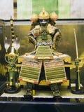 Armadura japonesa del samurai Fotografía de archivo libre de regalías