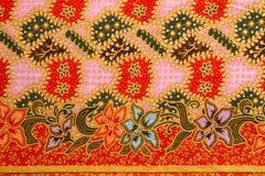 Armadura nativa de la tela del estilo tailandés tradicional Fotos de archivo